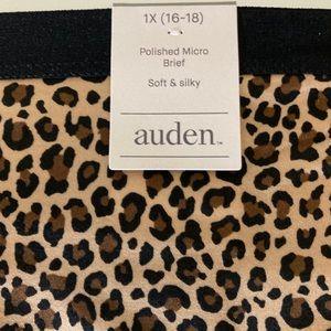 New With Tags Auden Women's Underwear